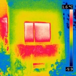 Wärmebrücke: schwach gedämmte Heizkörpernische