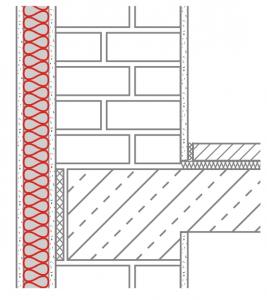 Sparen durch Mauerwerk mit Außendämmung