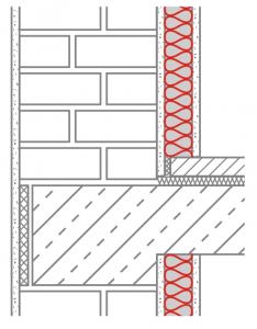 Sparen durch Mauerwerk mit Innendämmung