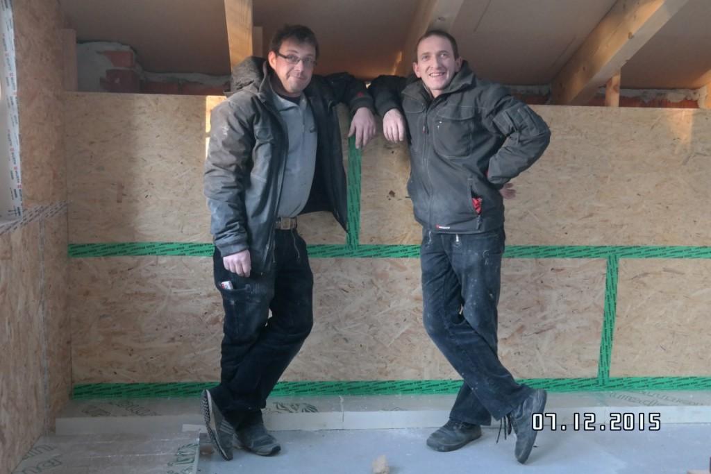 Holzbau und Dämmung: Herstellung optimal gedämmter und luftdichter Dachausbauten