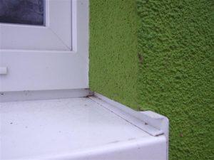 Richtige Fensterbankmontage im Wärmedämmverbundsystem